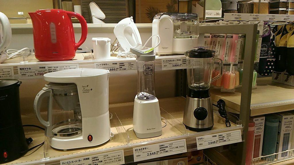 コーヒーメーカー、ポットなど